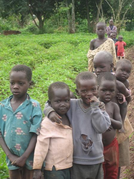 Children in Gulu, Northern Uganda