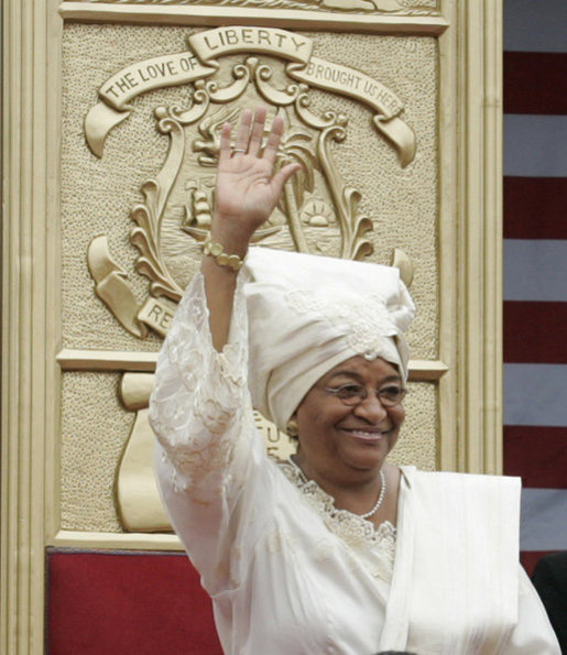 President Ellen Johnson Sirleaf. Wiki Image