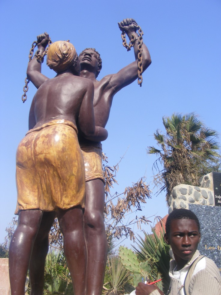 The statute of freedom signifying the end of slavery. Rosebell Kagumire photo.