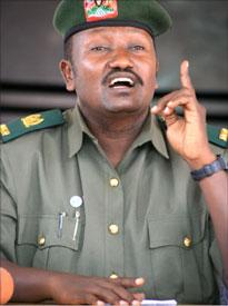 Maj.Felix Kulayigye, Uganda army spokesperson