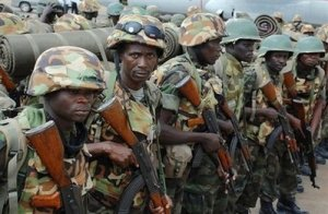 Ugandan soldiers. Some have suffered under an unjust miltary justice system