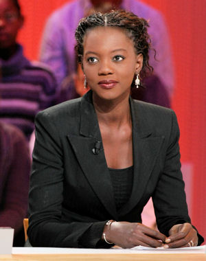 Rama Yade, France's junior Minister for youth and sports. linternaute photo