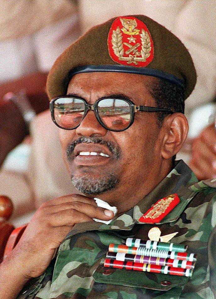Sudanese President Omar al Bashir. from cosmicdynamic