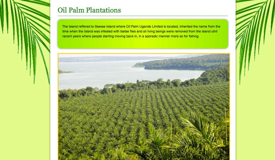 Screen shot from BIDCO Uganda Ltd.
