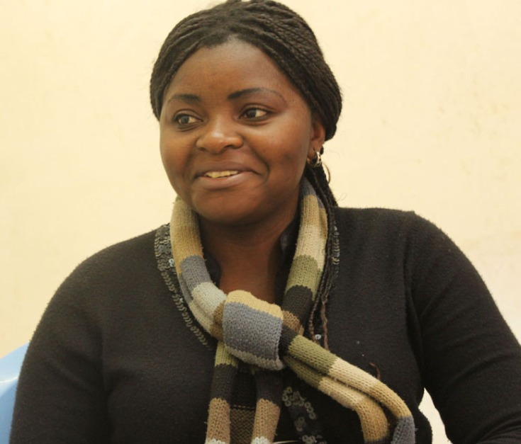 Passy Mubalama , Congolese journalist and blogger