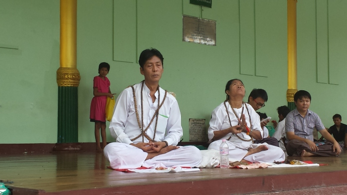 Meditation at the Pagoda