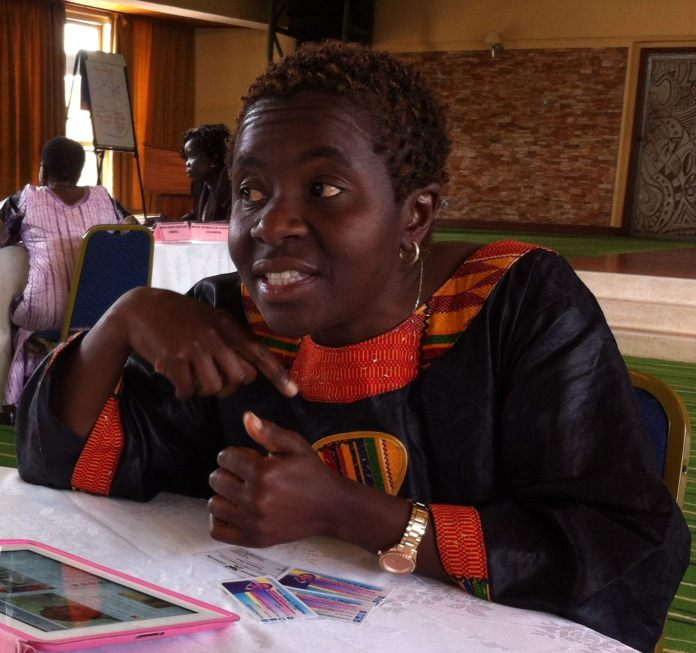 Jessie F. Majome, Harare West MP photo by Helen Kezie.