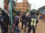 Tensions high, heavy police and military deployement ahead Uganda vote declaration